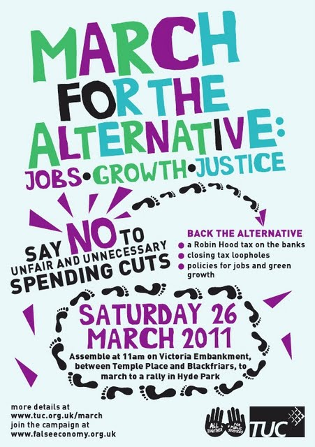 Vassall View: March for the Alternative 26 March 2011