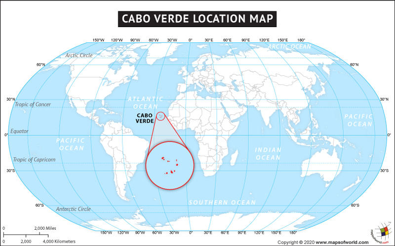 Image result for map of the world with cap verde