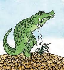 krokodiltårar