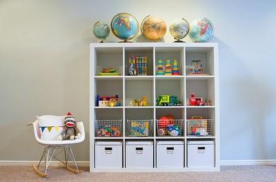ideas para guardar y ordenar los juguetes