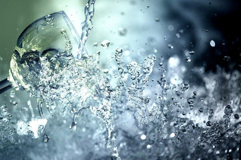 El Agua, Vaso De Agua, Beber, Refresco, Copa De Vino