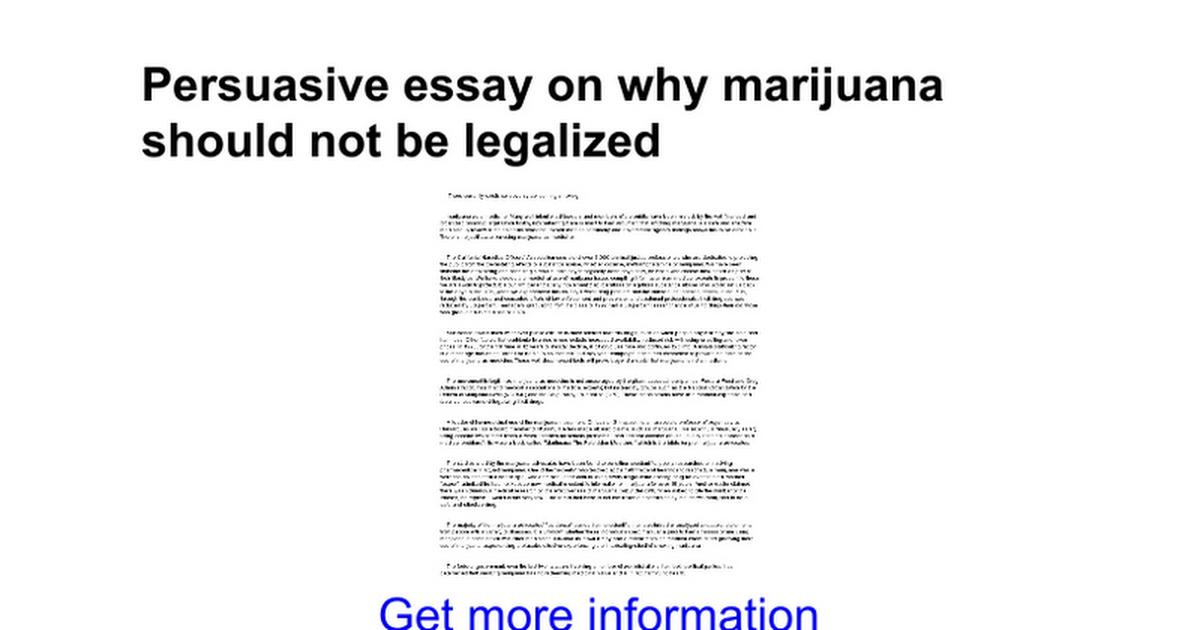 shoud cannabis be legalized essay Should marijuana be legalized in texas the devate over the legalization of cannabis sativa, more commonly known as marijuana.