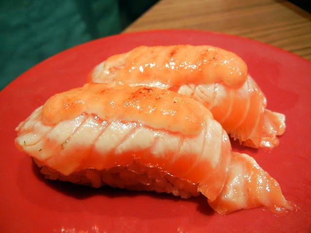 Salmon Mentai Sushi