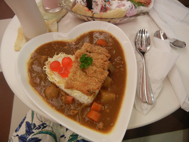 Japanese Curry Chicken Katsu Rice