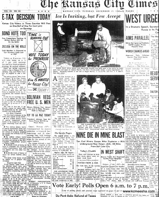 Old Newspaper Front Page Old newspapers  kansas city eOld Newspaper Front Page