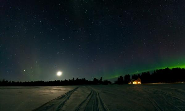 Maior a Aurora Boreal em Anos
