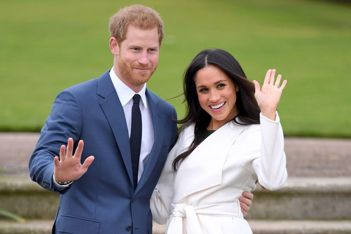 Image result for meghan markle and prince harry wedding reception