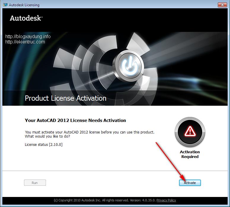 14 Hướng dẫn cài đặt và Active AutoCAD 2012   Full bằng hình ảnh.