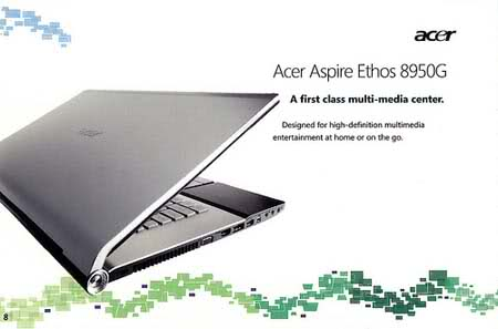 2ngu2e0 Acer Aspire Ethos 8950G, An 18.4 Giant Multimedia Laptop