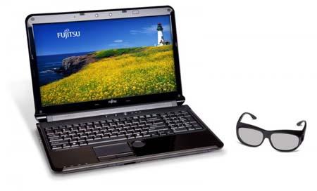 Fujitsu LifeBook AH572 3D