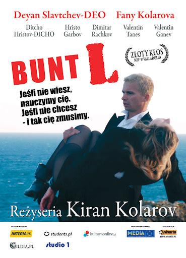 Polski plakat filmu 'Bunt L.'