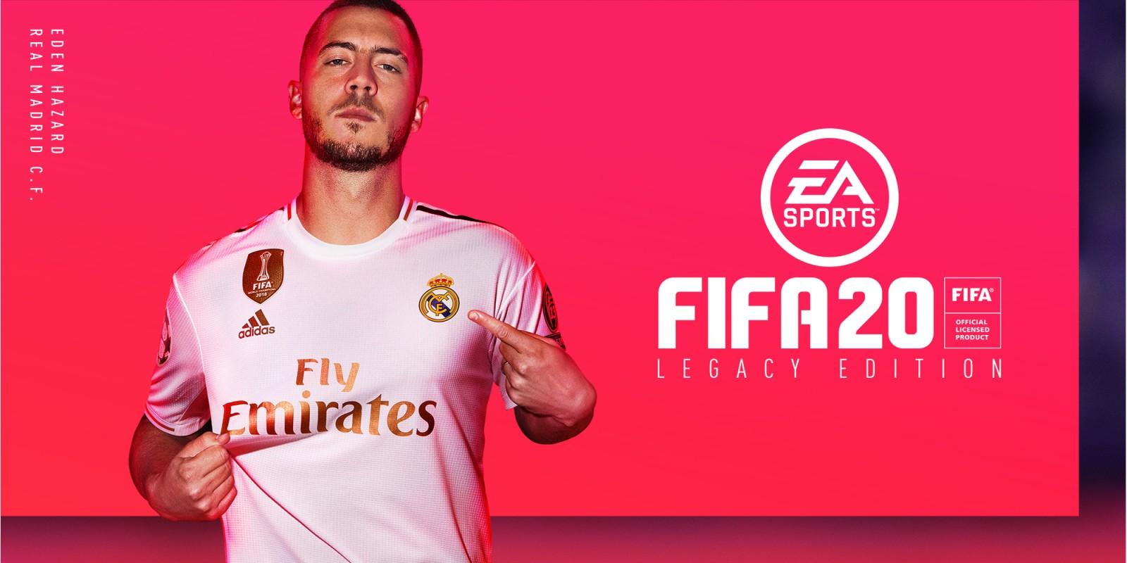 Азар на обложке FIFA 20