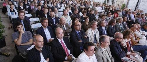 13 d'octubre de 2009. Inauguració oficial del curs acadèmic de la UdG 2009-2010. Foto: Diari de Girona