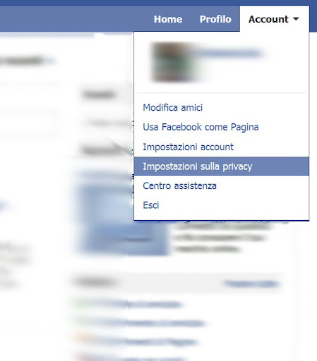 Come impostare la privacy su Facebook