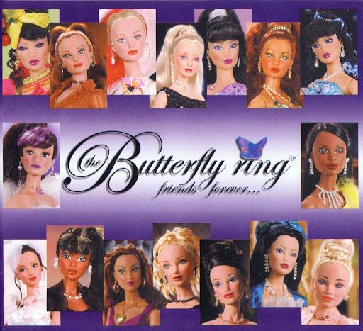 "Butterfly Ring & other Dolls by Sandra Bilotto (16,5"") Bilotto0001"