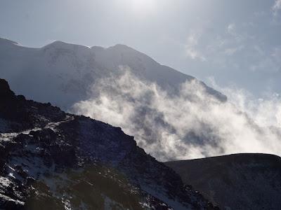 Mt. Rainier Clouds