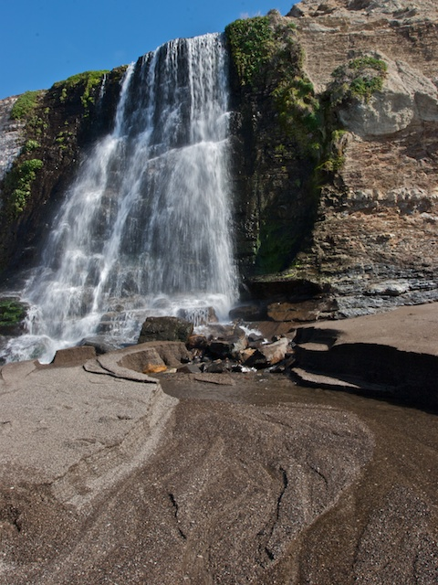 alamere falls and creek