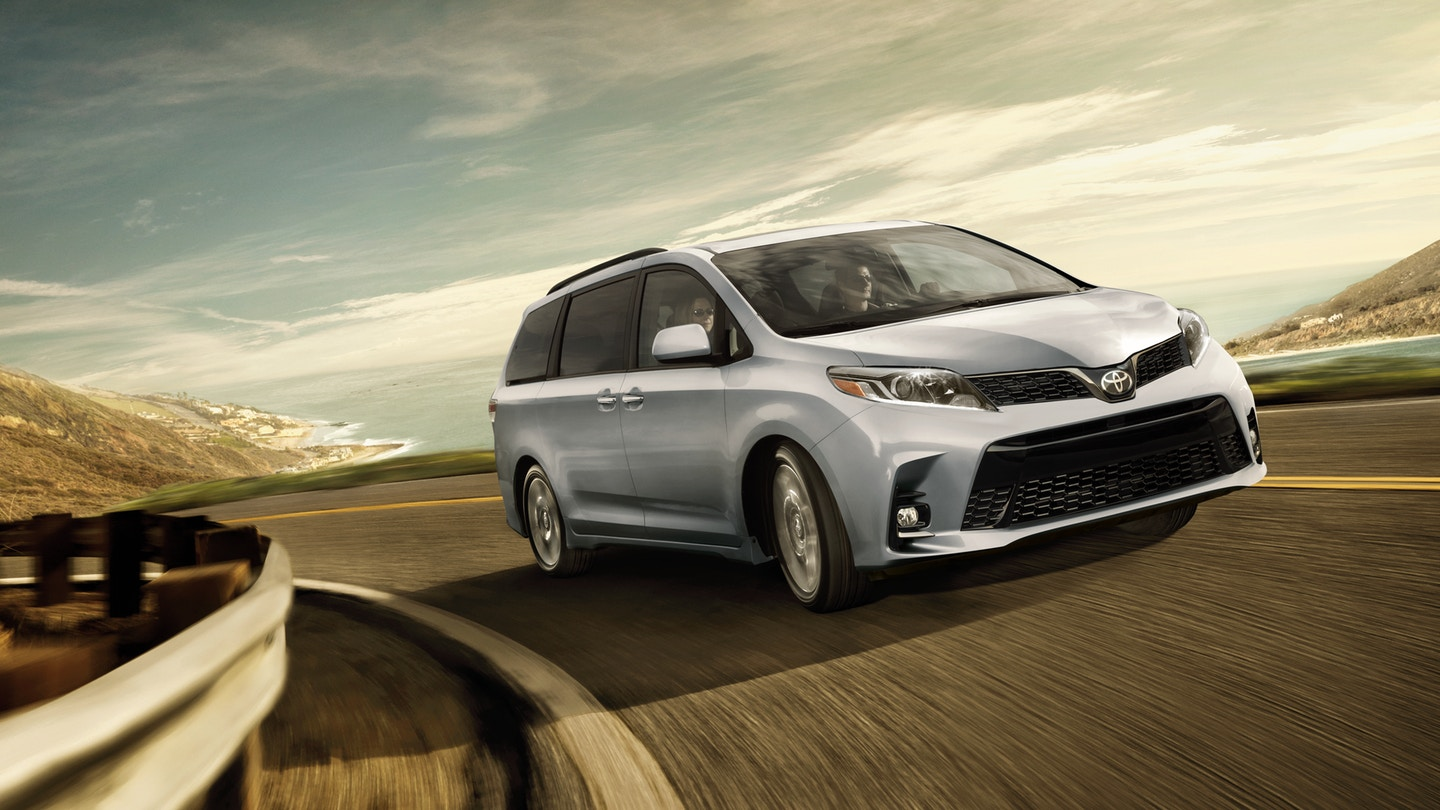 Take A Look At The Redesigned Toyota Sienna