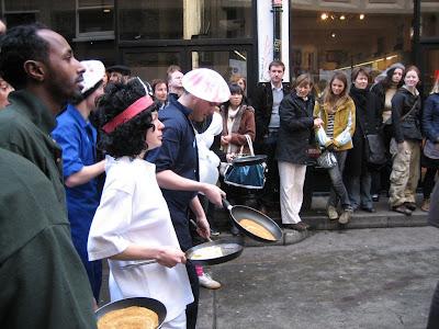 Shrove Tuesday Pancake Races