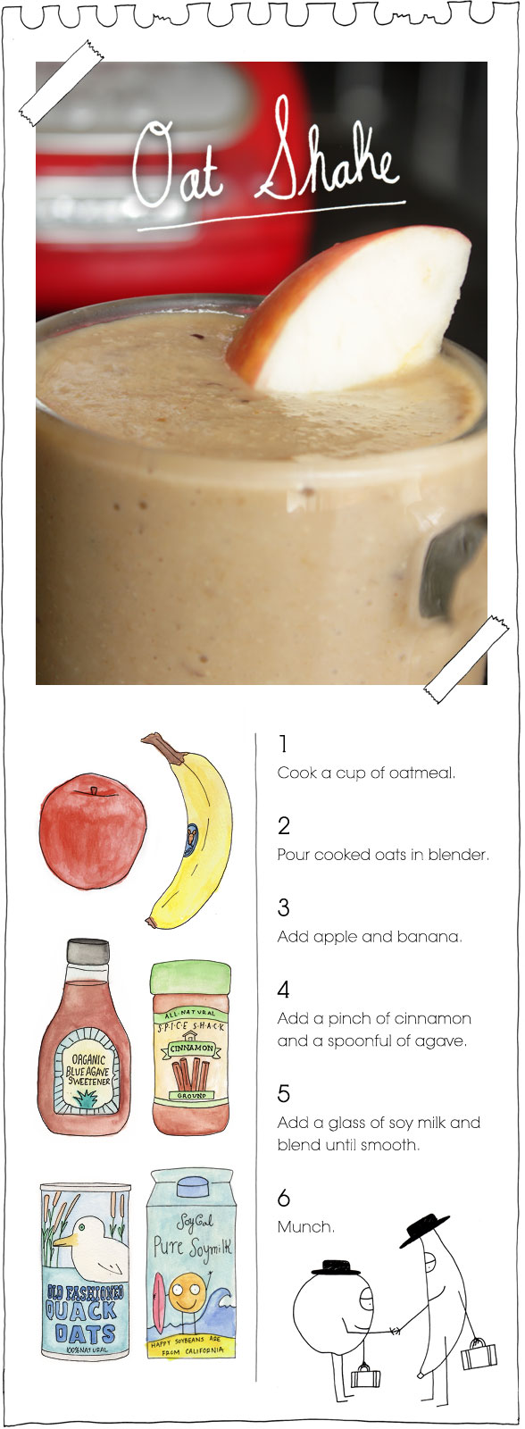 The Vegan Stoner's Oat Shake