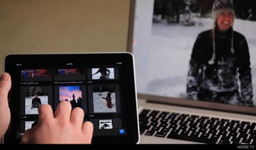 Adobe Nav: управление Photoshop с iPad