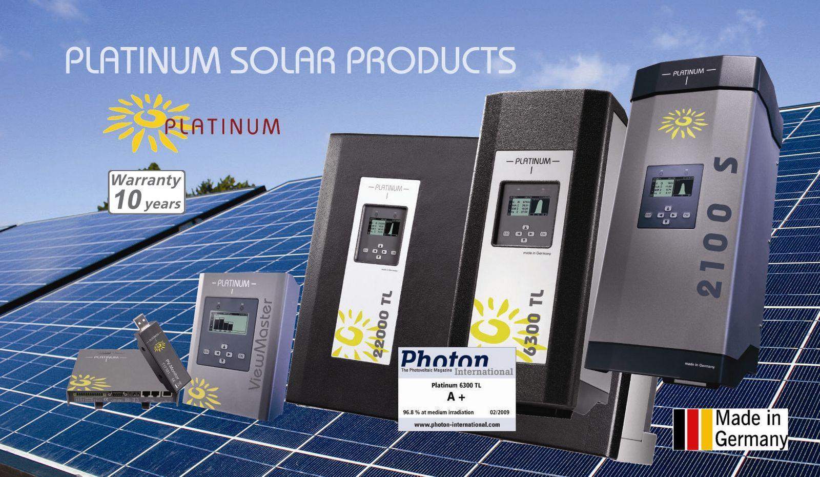 Enter to Solar Wonderland Platinum Solar Products