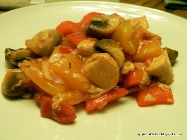 Finding Joy in My Kitchen: Turkey and Pepper Stew