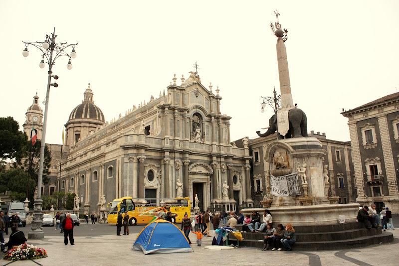 Piazza del Duomo, Catania, Sicilia
