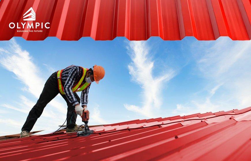 Mái tôn Olympic với khả năng cách nhiệt, cách âm hiệu quả