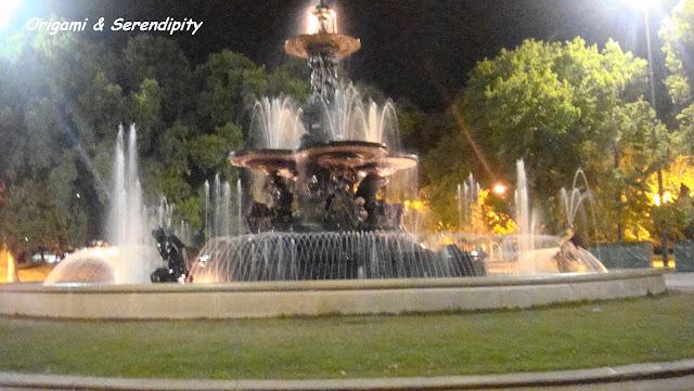 Fuente de los Continentes, Mendoza, Argentina, Elisa N, Blog de Viajes