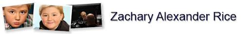 Zachary Alexander Rice Banner
