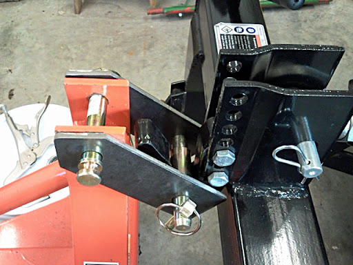 All About My Harbor Freight Quick Hitch - MyTractorForum com