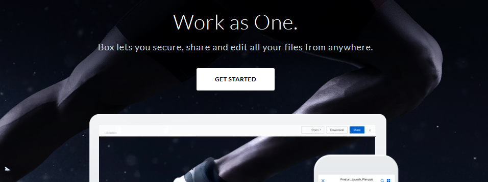 Box: File sharing site and sharepoint alternative