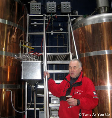 Mark Szmaida, Assistant Brewer at Chelsea Brewing Company in New York, NY - Photo by Taste As You Go