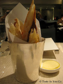 Bread Basket at Maze at The London NYC by Gordon Ramsay in New York, NY - Photo by Taste As You Go