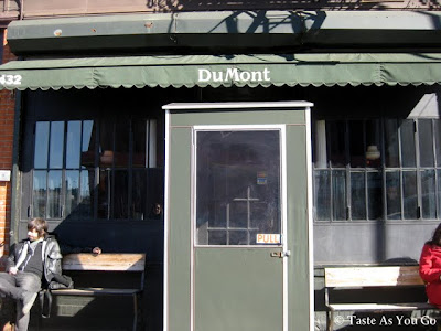 DuMont Exterior in Brooklyn, NY - Photo by Taste As You Go