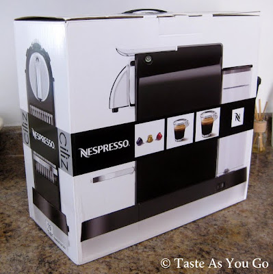Nespresso CitiZ Espresso Machine- Photo by Taste As You Go