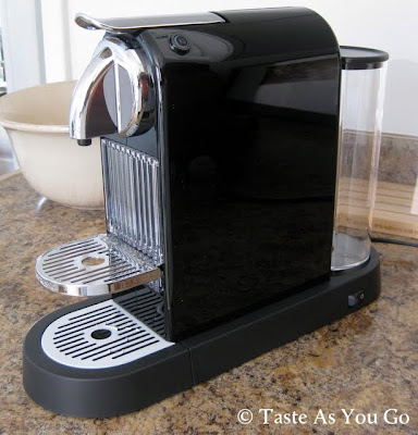 Nespresso CitiZ Espresso Machine - Photo by Taste As You Go