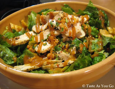 Thai Chopped Chicken Salad from Panera Bread - Photo by Taste As You Go