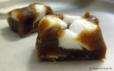 Vanilla Marshmallow Cowmel from Swiss Maid Fudge in Wisconsin Dells, WI - Photo by Taste As You Go