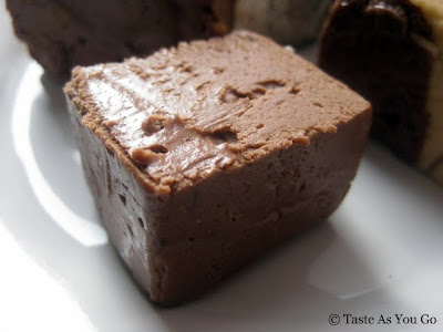 Milk Chocolate Fudge from Swiss Maid Fudge in Wisconsin Dells, WI - Photo by Taste As You Go