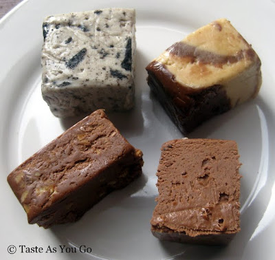 Assortment of Fudge from Swiss Maid Fudge in Wisconsin Dells, WI - Photo by Taste As You Go