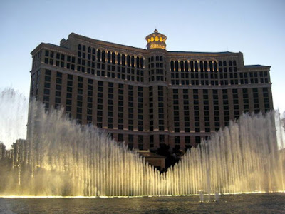 The Fountains at the Bellagio in Las Vegas, NV - Photo Courtesy of Taste As You Go