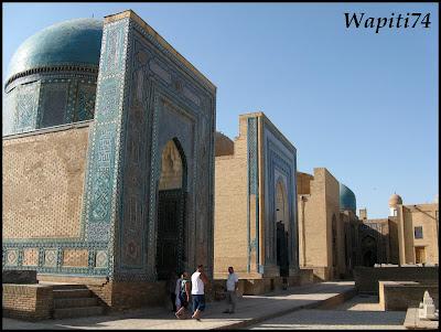 Sur les Routes de la Soie : Ouzbekistan et Tadjikistan - Page 3 66-Tachkent-ShakhiZinda