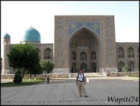 Sur les Routes de la Soie : Ouzbekistan et Tadjikistan - Page 3 154-3-Samarcande-Reghistan