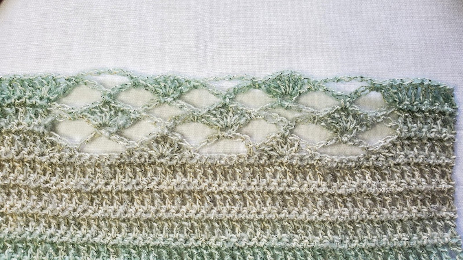 Shells And Trellis Tunic - Free Crochet Top Pattern