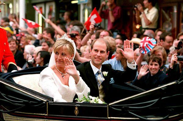 Pangeran Edward dan Sophie  Rhys-Jones, 19 Juni '99