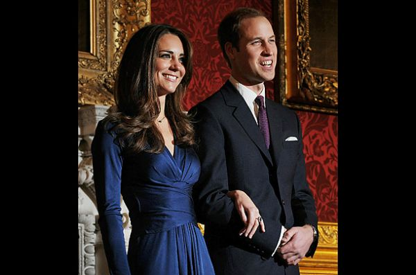 Pangeran William dan Kate Middleton, 2011