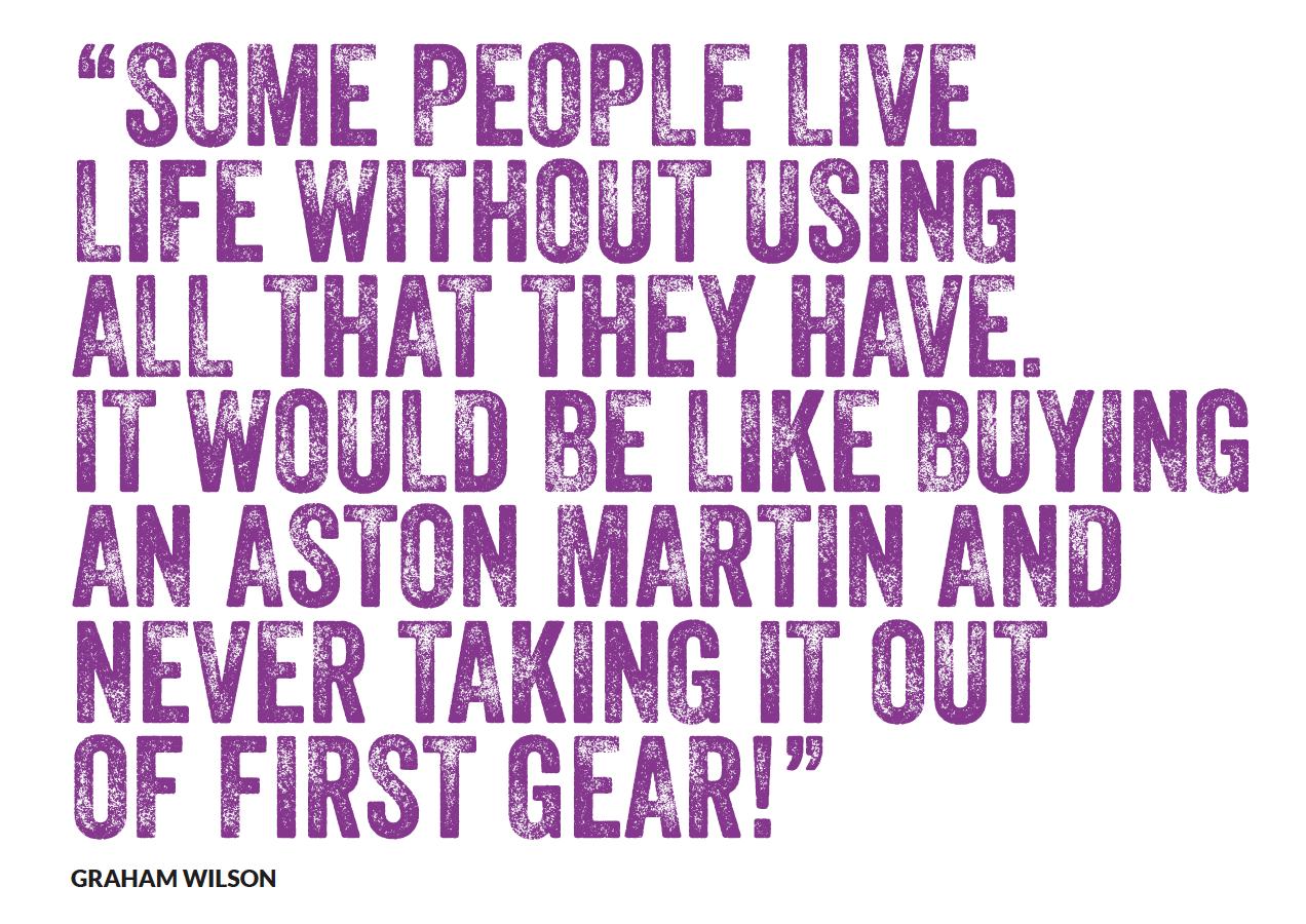 Graham Wilson Quote