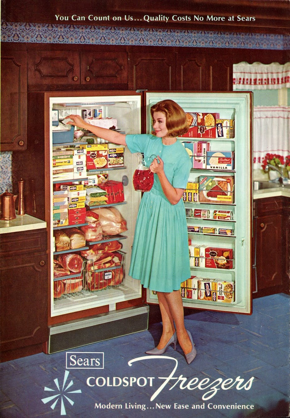 Sears Coldspot Freezer, 1965